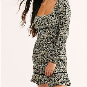 NWT Free People Boheme Mini Dress size 4